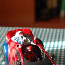 Figuras y Muñecos Marvel: COCHE DE SPIDERMAN, MARVEL CON FIGURA THE ANIMATED SERIES. Lote 51323026