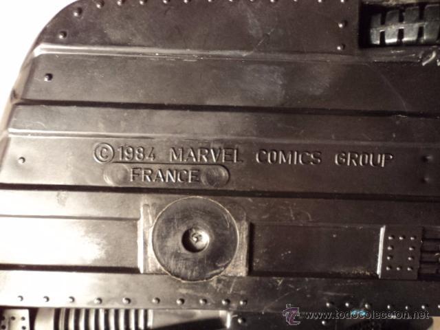 Figuras y Muñecos Marvel: SECRET WARS VEHICULO NAVE MOTO SIDECAR TURBO EN LA BASE 1984 MARVEL COMIC GROUP R400 - Foto 8 - 51601255