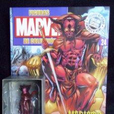 Figuras y Muñecos Marvel: MEFISTO + REVISTA MARVEL CLASSIC FIGURINE COLLECTION - ALTAYA - PLOMO - LEGENDS. Lote 51613484
