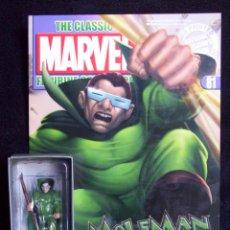 Figuras y Muñecos Marvel: HOMBRE TOPO + REVISTA MARVEL CLASSIC FIGURINE COLLECTION - ALTAYA - PLOMO - LEGENDS. Lote 51613516