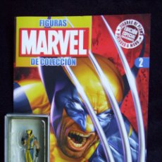 Figuras y Muñecos Marvel: LOBEZNO + REVISTA MARVEL CLASSIC FIGURINE COLLECTION - ALTAYA - PLOMO - LEGENDS. Lote 51613535