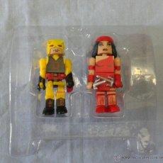 Figuras y Muñecos Marvel: MARVEL MINIMATES DAREDEVIL YELLOW ELEKTRA. Lote 52457866