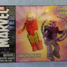 Figuras y Muñecos Marvel: MARVEL MINIMATES IRON MAN GHOST RIDER. Lote 52458052