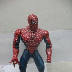 Figuras y Muñecos Marvel: SPIDER-MAN DE PLÁSTICO CON MANDO PARA ARTICULAR BRAZOS Y CON SONIDO. Lote 52550390