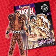 Figuras y Muñecos Marvel: FIGURA PLOMO EAGLEMOSS 23 - MARVEL - KRAVEN - CON REVISTA - CON CAJA. Lote 52953914