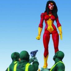Figuras y Muñecos Marvel: IMPRESIONANTE DIORAMA DE SPIDER-WOMAN. Lote 53171905