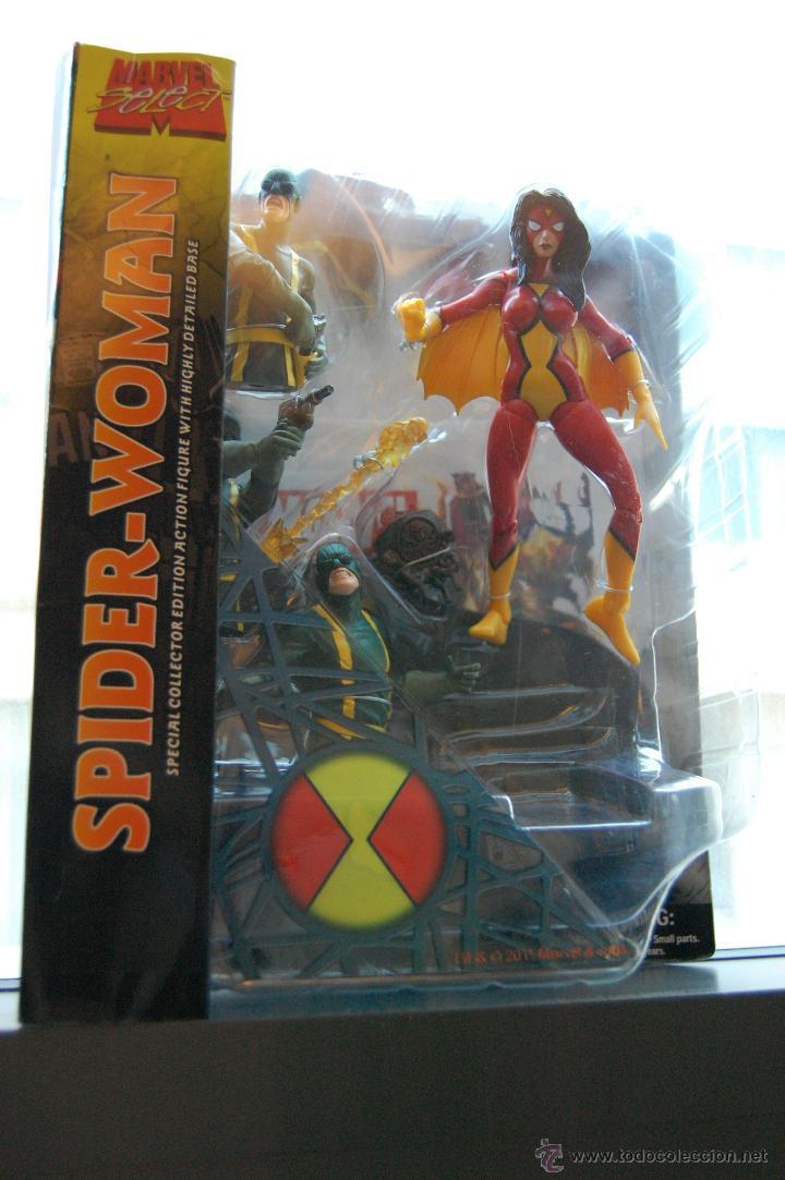 Figuras y Muñecos Marvel: Impresionante diorama de Spider-Woman - Foto 2 - 53171905