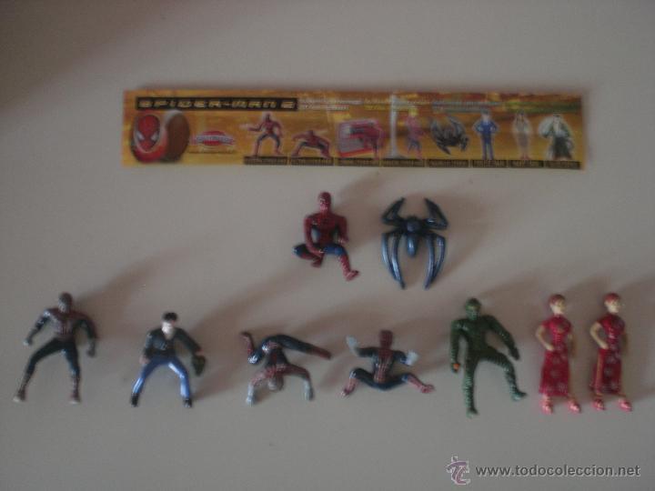 LOTE DE 9 FIGURAS SPIDERMAN - MARVEL (Juguetes - Figuras de Acción - Marvel)