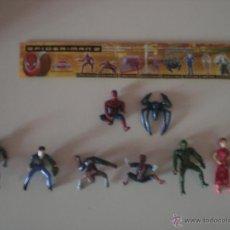 Figuras y Muñecos Marvel: LOTE DE 9 FIGURAS SPIDERMAN - MARVEL. Lote 53579292