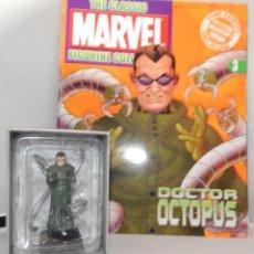 Figuras y Muñecos Marvel: FIGURA PLOMO EAGLEMOSS 3 - MARVEL - DOCTOR OCTOPUS - CON CAJA Y CON REVISTA. Lote 48151385