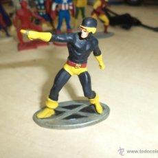 Figuras y Muñecos Marvel: FIGURA DE PLOMO MARVEL 2004 CÍCLOPE.PATRULLA X -X MEN.. Lote 54327110
