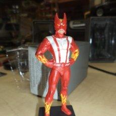 Figuras y Muñecos Marvel: FIGURA DE PLOMO SUPER HÉROES MARVEL 2011.SOLAR - SUNFIRE.X MEN.. Lote 54421305