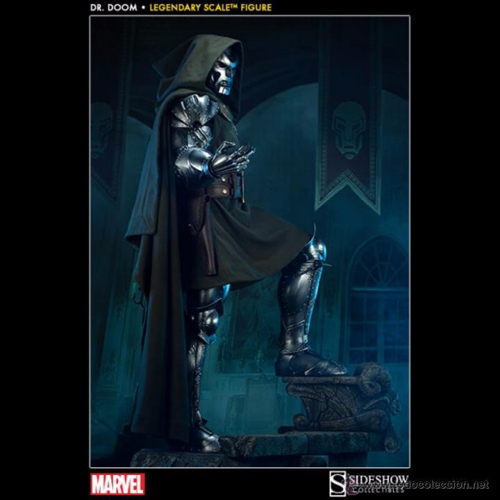 DR DOOM LEGENDARY SCALE 1/2 SIDESHOW (Juguetes - Figuras de Acción - Marvel)