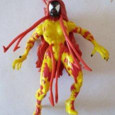 Figuras y Muñecos Marvel: FIGURA ARTICULADA SPIDERMAN: VENENO MARVEL TOY BIZ. Lote 55138931