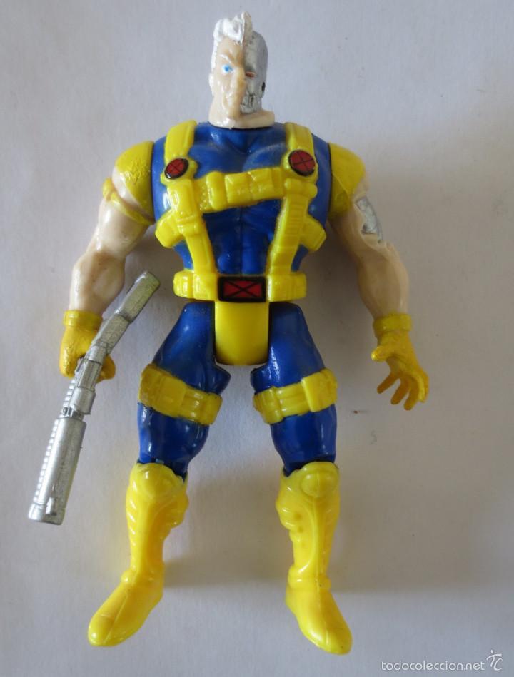 FIGURA X MEN CABLE TOY BIZ MARVEL (Juguetes - Figuras de Acción - Marvel)