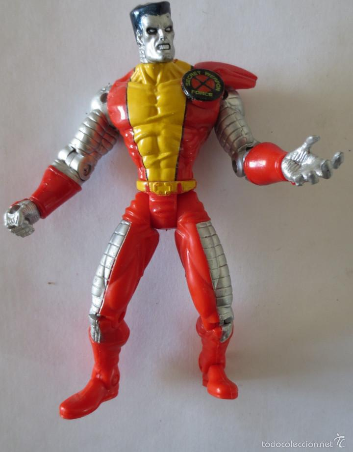 FIGURA ARTICULADA X MEN: COLOSO MARVEL TOY BIZ (Juguetes - Figuras de Acción - Marvel)