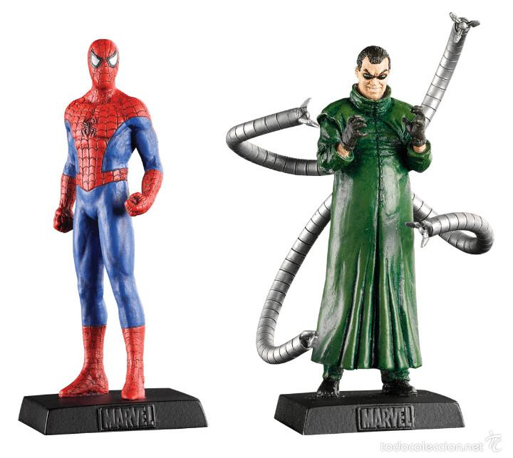 Figuras plomo eaglemoss altaya spider man y d comprar for Figuras marvel altaya