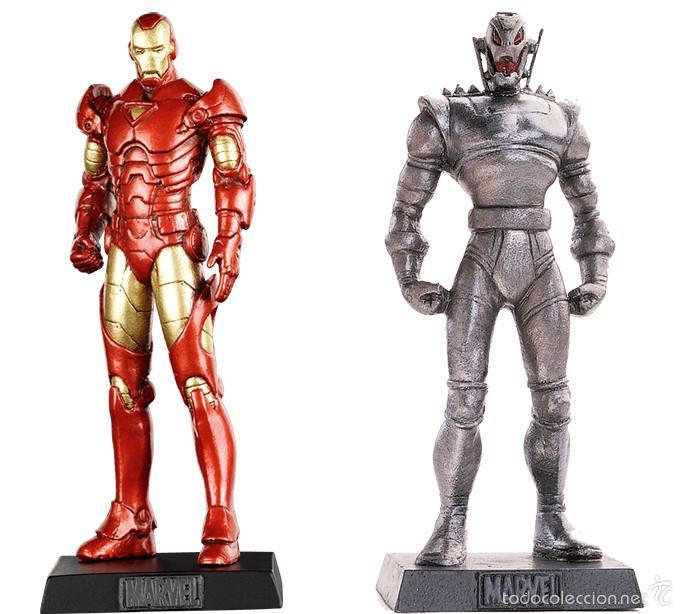 Figuras plomo eaglemoss altaya iron man y ult comprar for Figuras marvel altaya