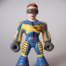 Figuras y Muñecos Marvel: MARVEL HEROES CICLOPE FIGURA TIPO KINDER 2011. Lote 56987724