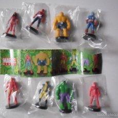 Figuras y Muñecos Marvel: MARVEL HEROES COLECCION COPLETA DE 8 FIGURAS DE PVC DE 4 CM TIPO KINDER 2006. Lote 56987895