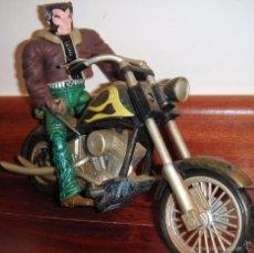 Figuras y Muñecos Marvel: FIGURA LOGAN LOBEZNO MOTO MARVEL LEGENDS. Lote 57059539