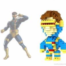 Figuras y Muñecos Marvel: FIGURA PARA CONSTRUIR CYCLOPE CYCLOPS CICLOPE X-MEN SUPER HEROES LEGO MARVEL. Lote 57665220