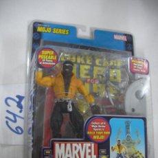 Figuras e Bonecos Marvel: ANTIGUO BLISTER MARVEL NUEVO SIN ABRIR CON COMIC - LUKE CAGE. Lote 57937251
