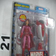 Figuras y Muñecos Marvel: ANTIGUO BLISTER MARVEL NUEVO SIN ABRIR CON COMIC - SCARLET WITCH. Lote 57937676