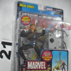 Figuras y Muñecos Marvel: ANTIGUO BLISTER MARVEL NUEVO SIN ABRIR CON COMIC - LONGSHOT. Lote 57937737