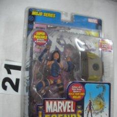 Figuras y Muñecos Marvel: ANTIGUO BLISTER MARVEL NUEVO SIN ABRIR CON COMIC - PSYLOCKE. Lote 57937743