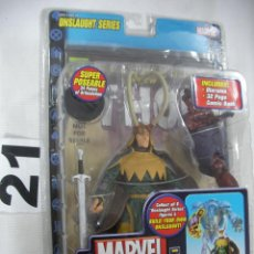Figuras y Muñecos Marvel: ANTIGUO BLISTER MARVEL NUEVO SIN ABRIR CON COMIC - LOKI. Lote 57937750