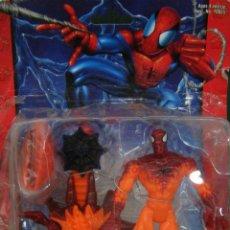 Figuras y Muñecos Marvel: SPIDER-MAN CLASSICS - FLAME ATTACK SPIDER-MAN . MUÑ-008 . SIN ABRIR. Lote 57956133
