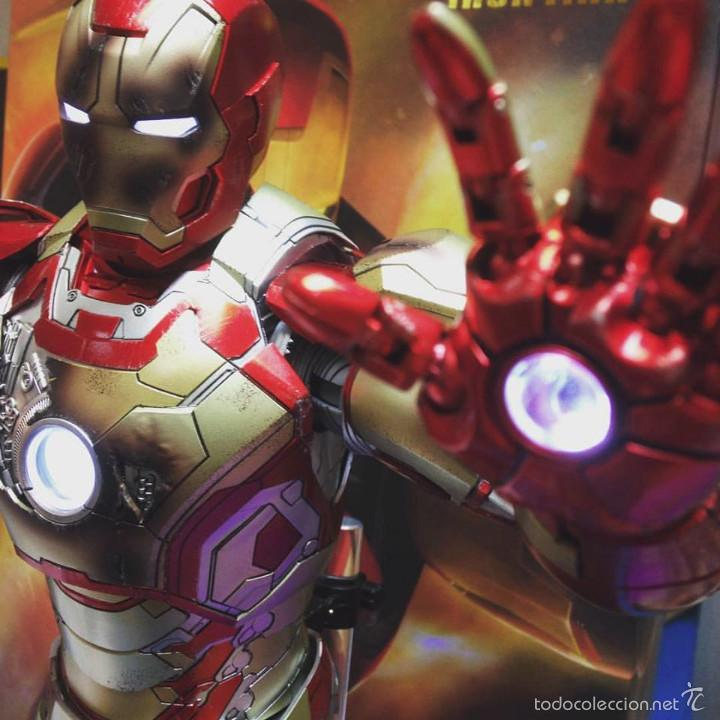 Figures and Dolls Marvel : IRON MAN MK42 FIGURA METAL 45 CM MARVEL 1/4 SCALE - COMICAVE STUDIOS - 8886413932808 - Foto 5 - 58554001