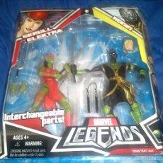 Figuras y Muñecos Marvel: MARVEL LEGENDS PACK ELEKTRA SKRULL & RONIN IMPOSIBLE DE ENCONTRAR AGOTADÍSIMA. Lote 61225995