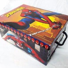 Figuras y Muñecos Marvel: CAJA DE CARTÓN CON ASAS DE SPIDERMAN. Lote 61861300