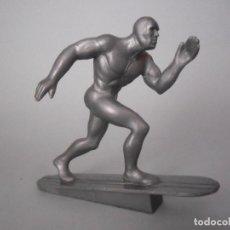 Figuras y Muñecos Marvel: MARVEL HEROES SILVER SURFER FIGURA DE PLASTICO DURO DE 6 CM MARVEL 1999 . Lote 62184236