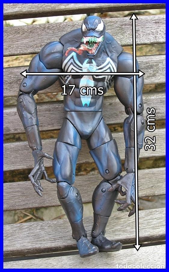 Figuras y Muñecos Marvel: Figura de Acción Venon....de la serie Spiderman.....MARVEL 2005....mide 32 X 17 cms - Foto 2 - 63147580