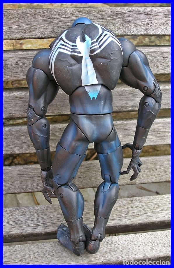 Figuras y Muñecos Marvel: Figura de Acción Venon....de la serie Spiderman.....MARVEL 2005....mide 32 X 17 cms - Foto 3 - 63147580