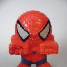 Figuras y Muñecos Marvel: SPIDERMAN FIGURA PROMOCIONAL DE GOMA PARA LANZAR AGUA NESTLE 2007. Lote 63198616