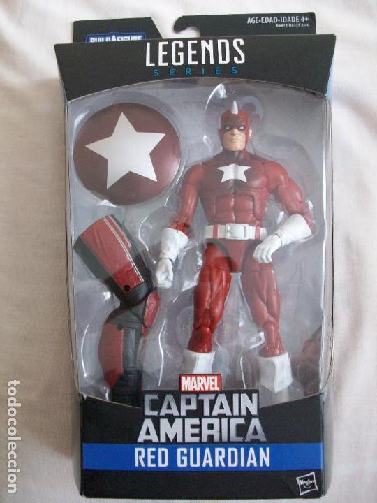 FIGURA MARVEL LEGENDS RED GUARDIAN GUARDIAN ROJO GIANT MAN SERIES EN BLISTER. DC UNIVERSE CLASSICS (Juguetes - Figuras de Acción - Marvel)