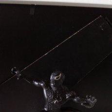 Figuras y Muñecos Marvel: ANTIGUA FIGURA PVC DE SPIDERMAN NEGRO. MARVEL YOLANDA.. Lote 65471210