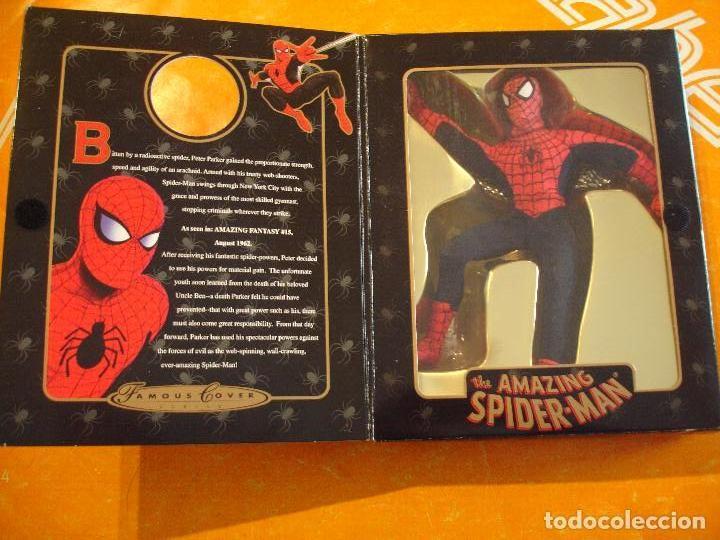 FIGURA MARVEL FAMOUS COVER SPIDERMAN 8 INCH TOYBIZ 1997 . DIFICIL ! (Juguetes - Figuras de Acción - Marvel)