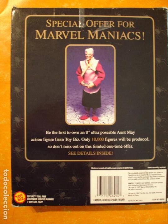 Figuras y Muñecos Marvel: FIGURA MARVEL FAMOUS COVER SPIDERMAN 8 INCH TOYBIZ 1997 . DIFICIL ! - Foto 3 - 68123209