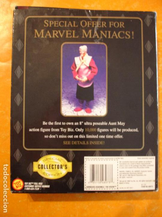 Figuras y Muñecos Marvel: FIGURA MARVEL FAMOUS COVER THE VISION 8 INCH TOYBIZ 1998 COVERS . DIFICIL ! - Foto 3 - 68123833
