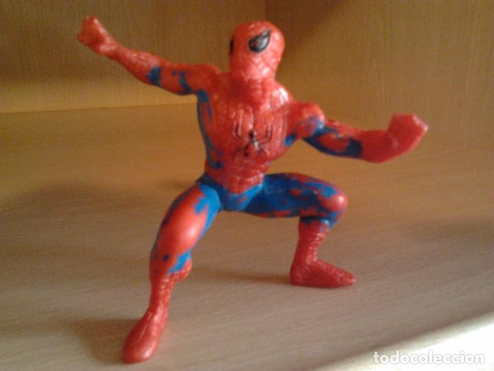 Figuras y Muñecos Marvel: 3 FIGURAS PVC: SPIDERMAN MARVEL AÑO 1996, DOCTOR MUERTE MARVEL 1996, BATMAN BULLY DC 1989 - Foto 3 - 68129245