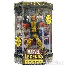 Figuras y Muñecos Marvel: FIGURA LOBEZNO UNMASKED MARVEL LEGENDS ICONS EN SU CAJA. Lote 68179821