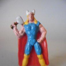 Figuras y Muñecos Marvel: SUPERHEROES THOR FIGURA PREMIUM DE PLASTICO DURO MARVEL COMICS WARNER BROS 2007. Lote 68779425