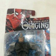 Figuras y Muñecos Marvel: FIGURA RHINO. SPIDERMAN ORIGINS. MARVEL. HASBRO. SIN USAR.. Lote 70053846