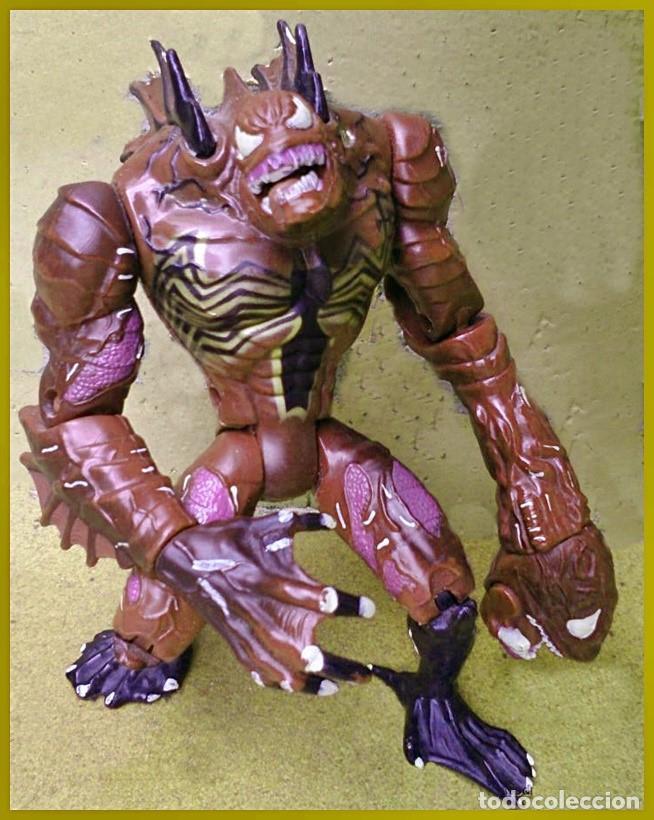 FIGURA DE ACCIÓN VENOM BLACK SEA...EL SUPERVILLANO DE SPIDERMAN MARVEL TOY BIZ 1997 (Juguetes - Figuras de Acción - Marvel)