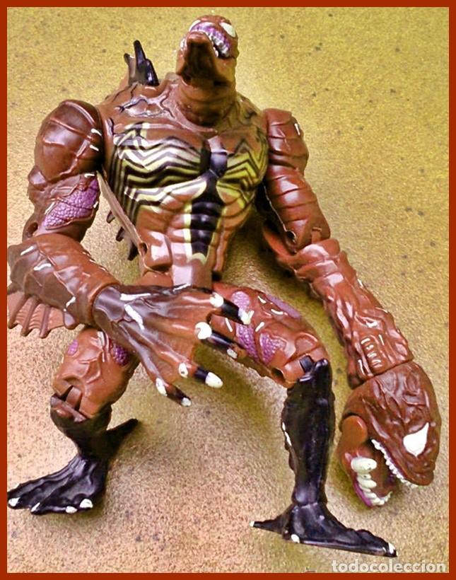 Figuras y Muñecos Marvel: Figura de Acción Venom Black Sea...el Supervillano de Spiderman Marvel TOY BIZ 1997 - Foto 3 - 70150485